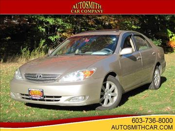 2003 Toyota Camry for sale at Autosmith Car Co in Epsom NH