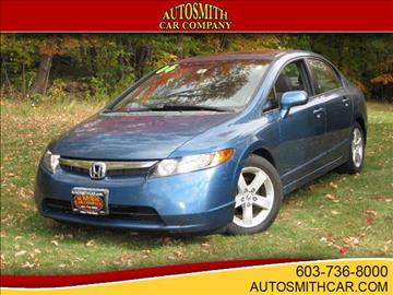 2006 Honda Civic for sale at Autosmith Car Co in Epsom NH