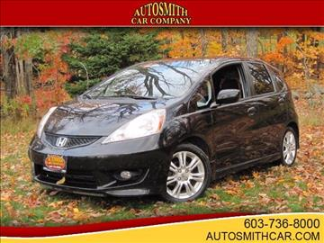 2009 Honda Fit for sale at Autosmith Car Co in Epsom NH