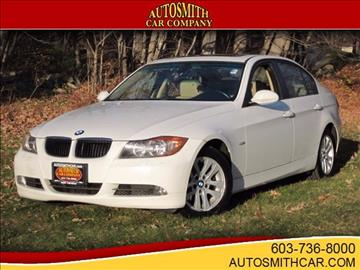 2007 BMW 3 Series for sale at Autosmith Car Company in Epsom NH