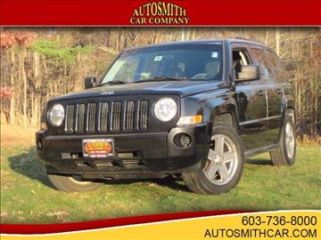 2008 Jeep Patriot for sale at Autosmith Car Company in Epsom NH