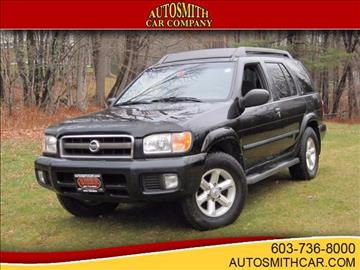 2003 Nissan Pathfinder for sale at Autosmith Car Company in Epsom NH