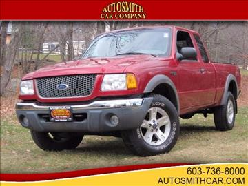 2002 Ford Ranger for sale at Autosmith Car Company in Epsom NH