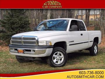 1999 Dodge Ram Pickup 1500 for sale at Autosmith Car Company in Epsom NH