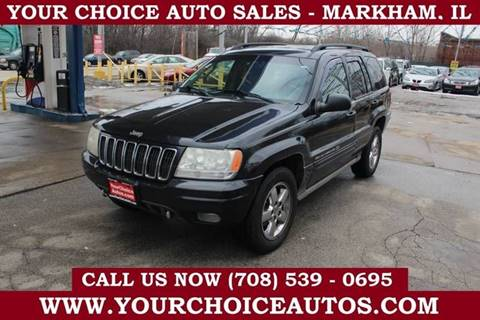 2003 Jeep Grand Cherokee for sale in Markham, IL