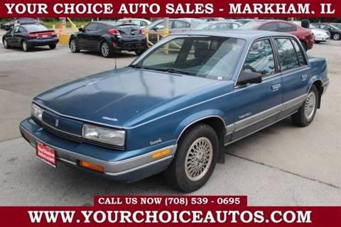 1989 Oldsmobile Cutlass Calais for sale in Markham, IL
