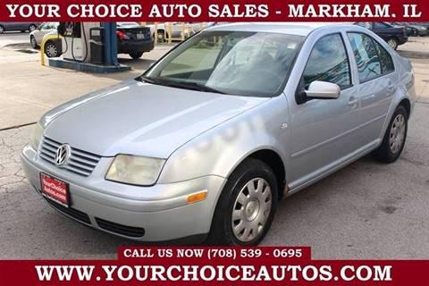 2003 Volkswagen Jetta for sale in Markham, IL