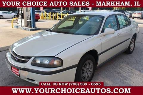 2004 Chevrolet Impala for sale in Markham, IL