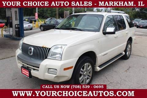 Your Choice Auto Sales >> 2007 Mercury Mountaineer For Sale In Markham Il