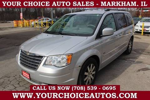 2009 Chrysler Town and Country Touring for sale at Your Choice Autos in Markham IL