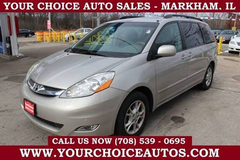 2006 Toyota Sienna XLE Limited 7 Passenger for sale at Your Choice Autos in Markham IL