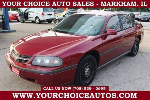 2005 Chevrolet Impala for sale at Your Choice Autos in Markham IL