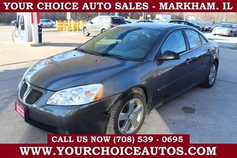 2006 Pontiac G6 GT for sale at Your Choice Autos in Markham IL