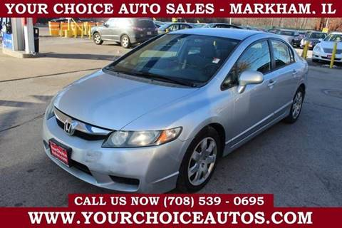 2009 Honda Civic LX for sale at Your Choice Autos in Markham IL