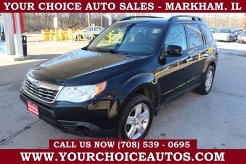 2009 Subaru Forester 2.5 X Premium for sale at Your Choice Autos in Markham IL