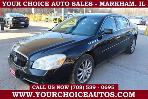 2007 Buick Lucerne CXS for sale at Your Choice Autos in Markham IL