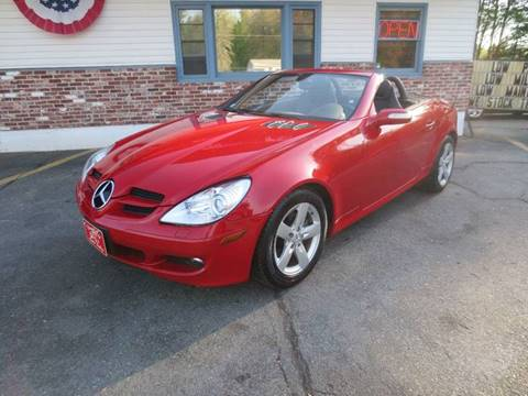 2007 Mercedes-Benz SLK for sale in Pepperell, MA