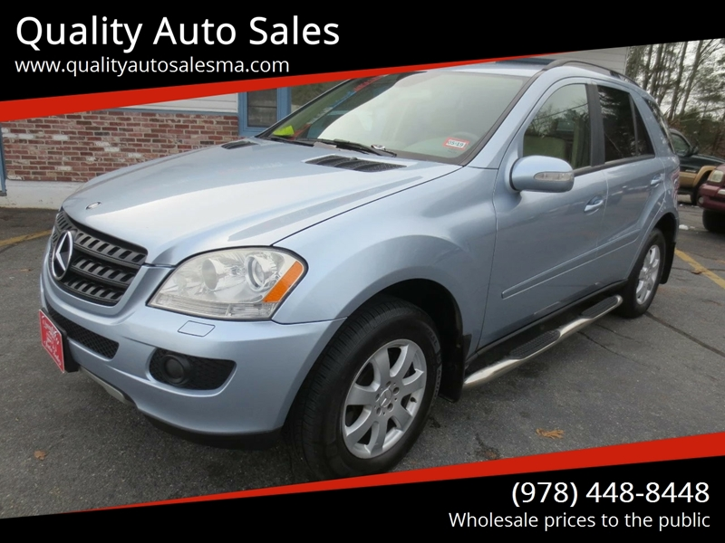 2006 Mercedes Benz M Class Awd Ml 350 4matic 4dr Suv In Pepperell Ma