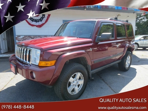 2007 Jeep Commander for sale in Pepperell, MA