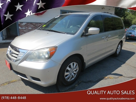 2008 Honda Odyssey for sale in Pepperell, MA