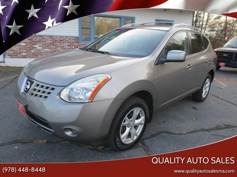 2010 Nissan Rogue for sale in Pepperell, MA