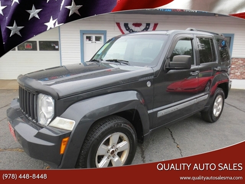 2010 Jeep Liberty for sale in Pepperell, MA