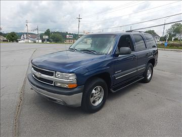 2003 Chevrolet Tahoe for sale at Carl's Auto Incorporated in Blountville TN
