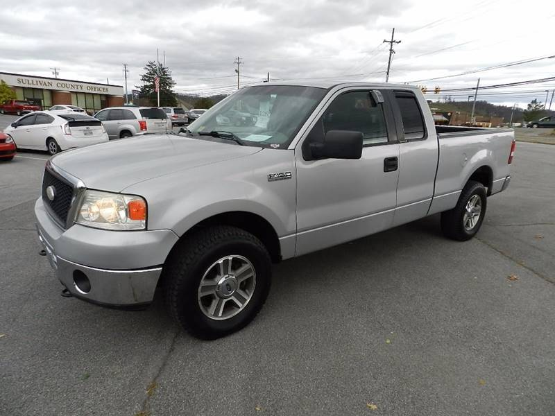 2008 FORD F-150 XLT silver the front windshield is in excellent condition  the paint has some sl