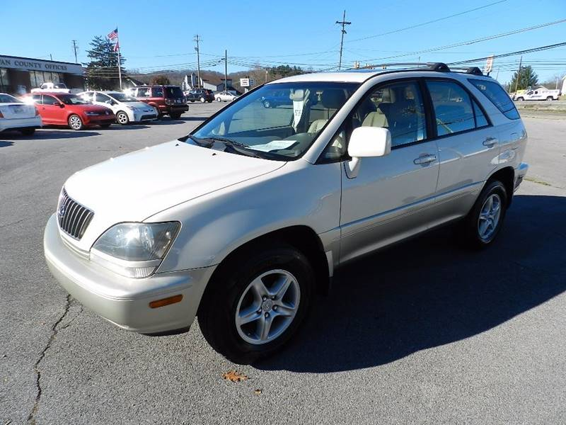 2000 LEXUS RX 300 BASE off white the front windshield is in excellent condition  the paint has s