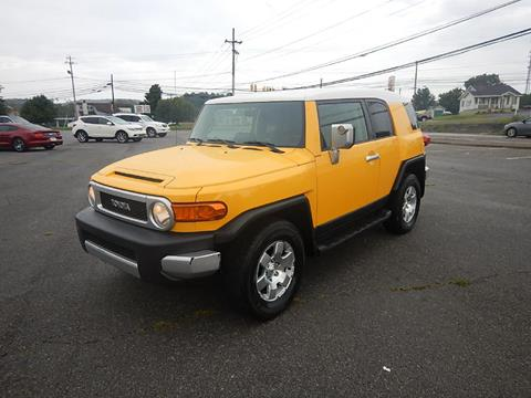 2007 Toyota FJ Cruiser for sale at Carl's Auto Incorporated in Blountville TN