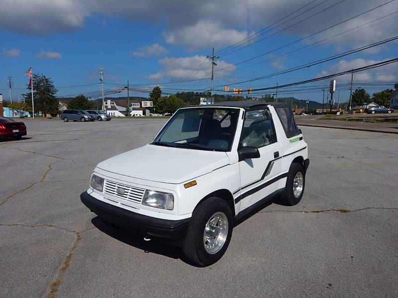 1991 GEO Tracker for sale at Carl's Auto Incorporated in Blountville TN