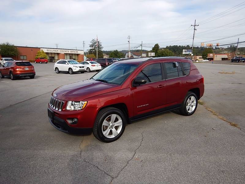 2011 Jeep Compass for sale at Carl's Auto Incorporated in Blountville TN