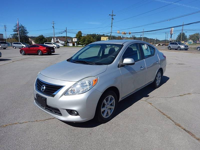 2012 Nissan Versa for sale at Carl's Auto Incorporated in Blountville TN