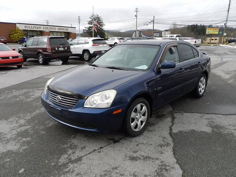 2007 KIA OPTIMA LX blue the front windshield is in excellent condition  the paint is in great sh