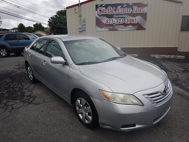 2007 Toyota Camry For Sale At Carlu0027s Auto Incorporated In Blountville TN