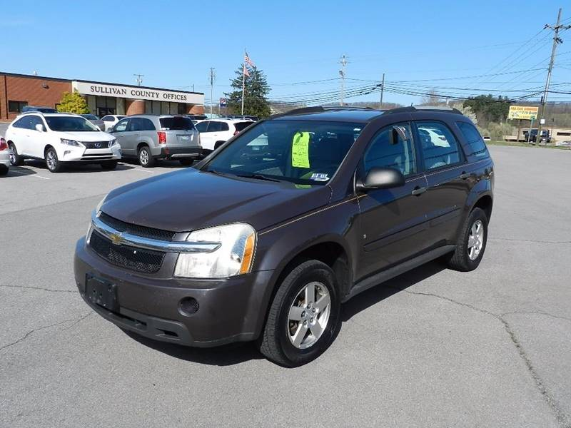2007 CHEVROLET EQUINOX LS gray the front windshield is in excellent condition  the paint is in g