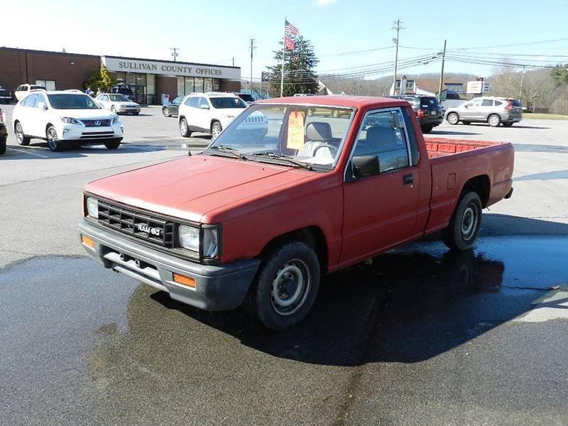1993 DODGE RAM 50 PICKUP BASE red the front windshield has some minor cracks  the paint has some