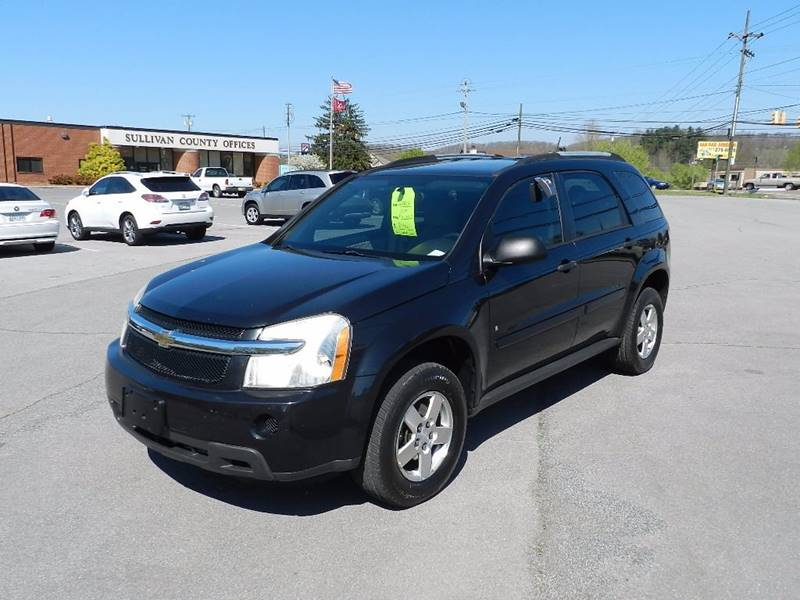 2008 CHEVROLET EQUINOX LS AWD 4DR SUV black the front windshield is in excellent condition  the