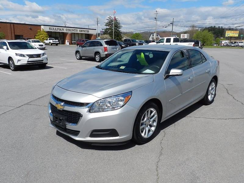 2015 CHEVROLET MALIBU LT 4DR SEDAN W1LT silver the front windshield is in excellent condition