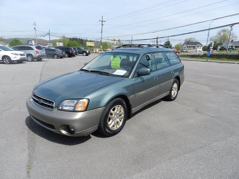 2001 SUBARU OUTBACK LIMITED green the front windshield is in excellent condition  the paint is i