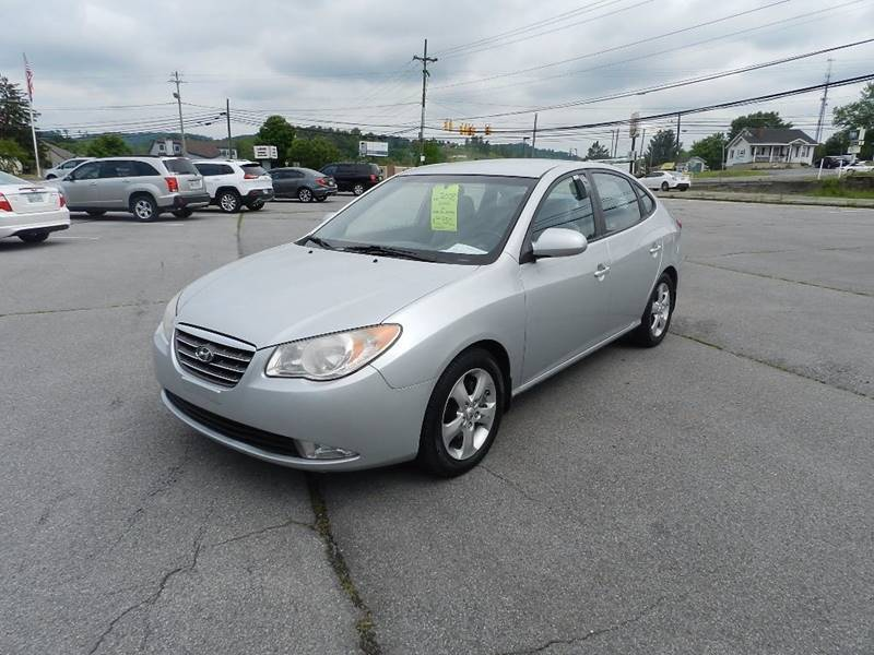 2008 HYUNDAI ELANTRA GLS 4DR SEDAN 4A silver the front windshield is in excellent condition  som