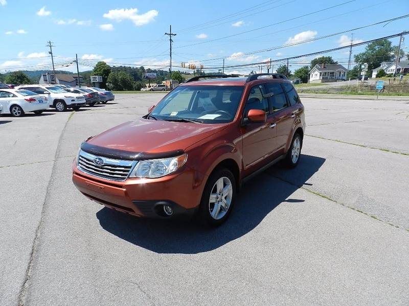 2010 SUBARU FORESTER 25X PREMIUM AWD 4DR WAGON 4A orange door handle color - chrome mirror color