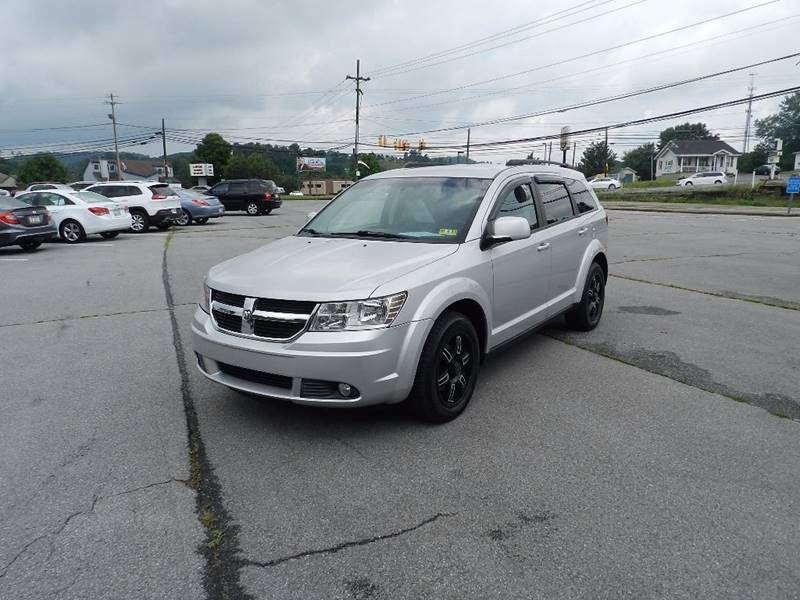 2010 DODGE JOURNEY SXT AWD 4DR SUV silver exhaust - dual tip cargo tie downs door handle color