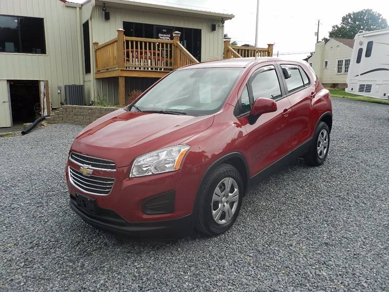 2015 CHEVROLET TRAX LS 4DR CROSSOVER W1LS red the front windshield is in excellent condition  t