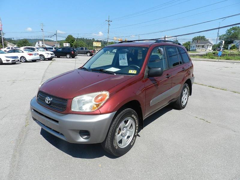 2004 TOYOTA RAV4 BASE AWD 4DR SUV red the front windshield is in excellent condition  the paint