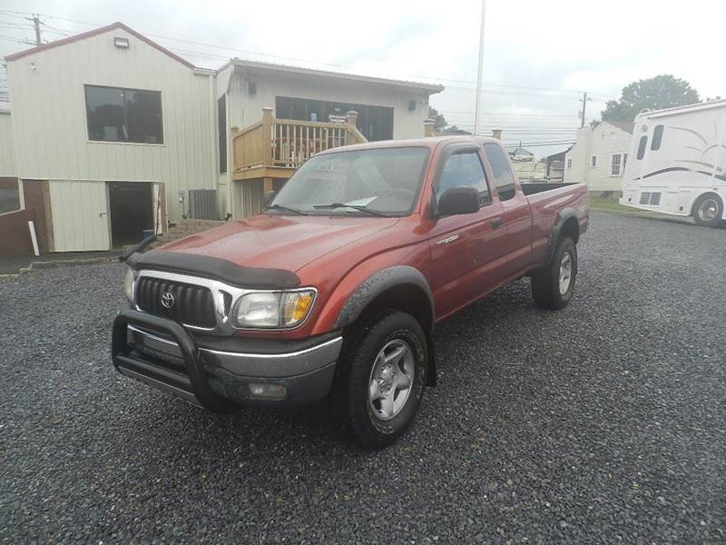 2001 TOYOTA TACOMA BASE 2DR XTRACAB 4WD SB red skid plates power steering axle ratio - 342
