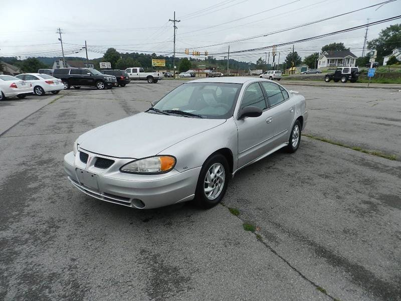 2003 PONTIAC GRAND AM SE1 4DR SEDAN silver front air conditioning center console cruise control