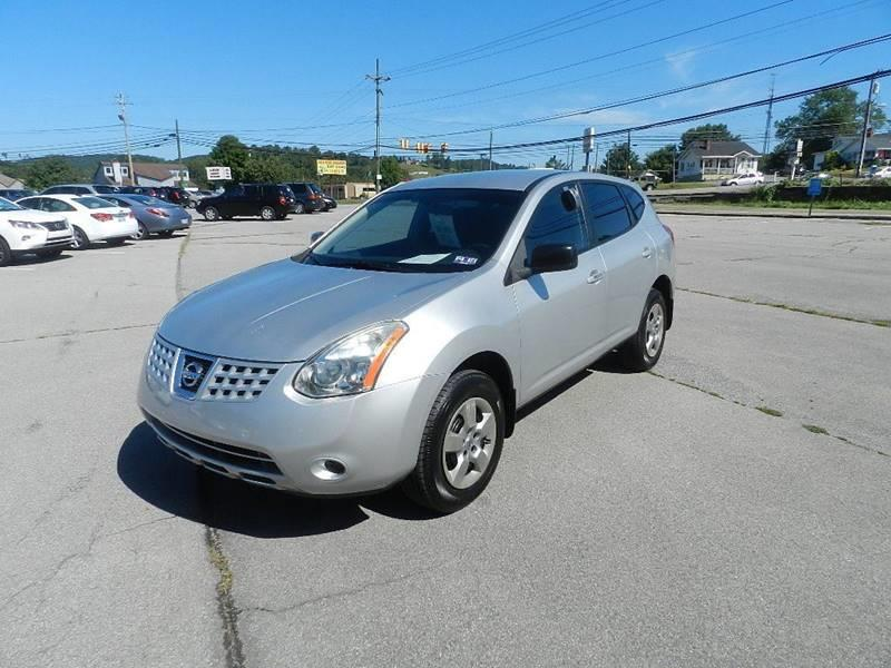 2008 NISSAN ROGUE S AWD CROSSOVER 4DR silver the front windshield is in excellent condition  the