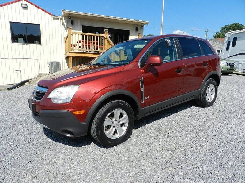 2009 SATURN VUE XE-V6 AWD 4DR SUV maroon the front windshield is in excellent condition  the pai
