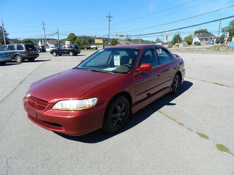 2000 HONDA ACCORD SE 4DR SEDAN red front air conditioning center console cruise control multi-